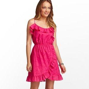 Lilly Pulitzer Kalen anchor ruffle dress